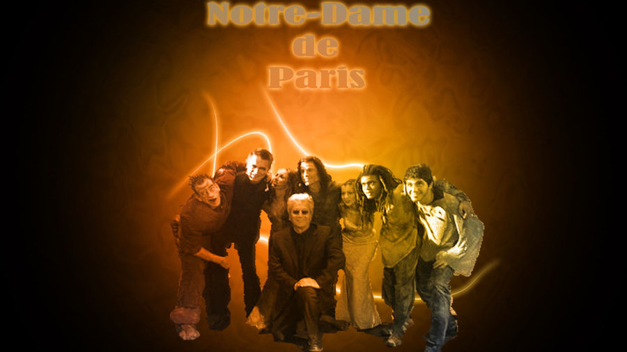 notre dame de paris musical french original cast by nievesangrienta d4nanxu
